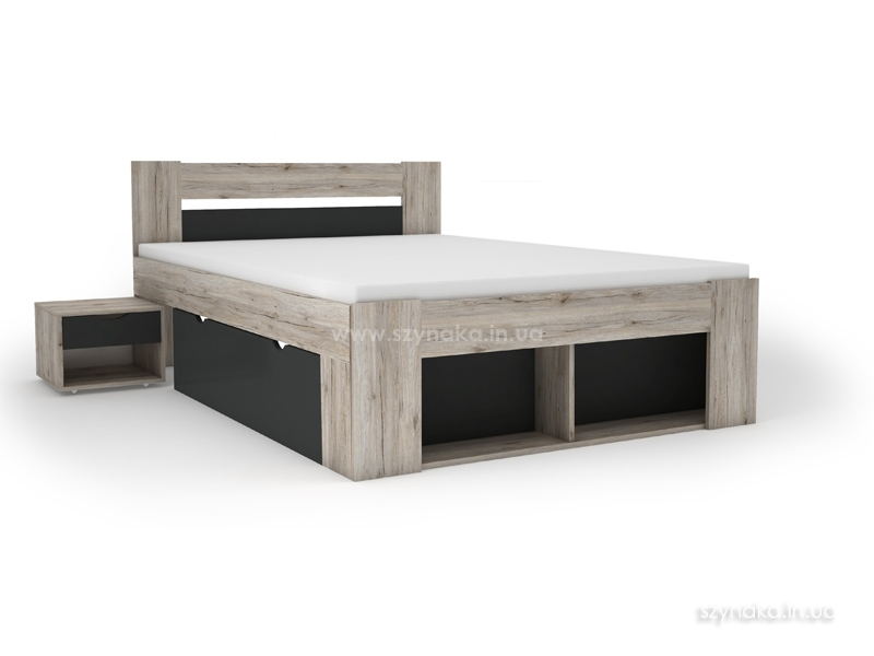 Кровать 160х200 Szynaka Roma 09 с тумбами