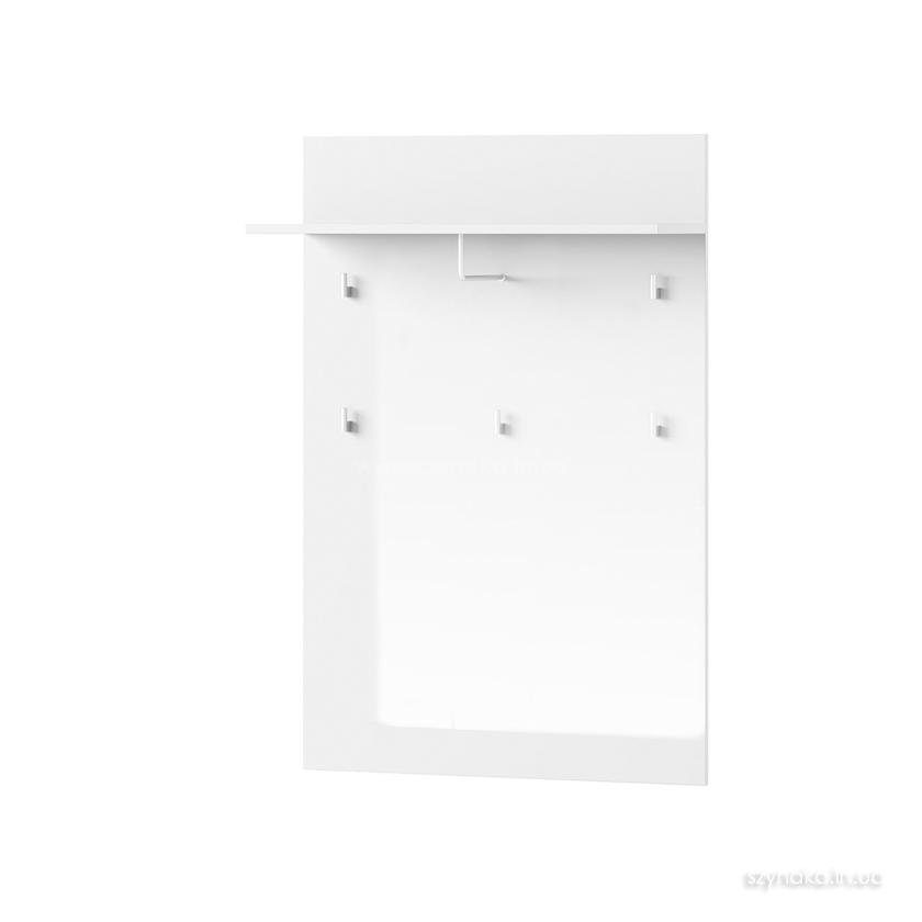 Панель навесная с вешалками Selene 20 цвет белый