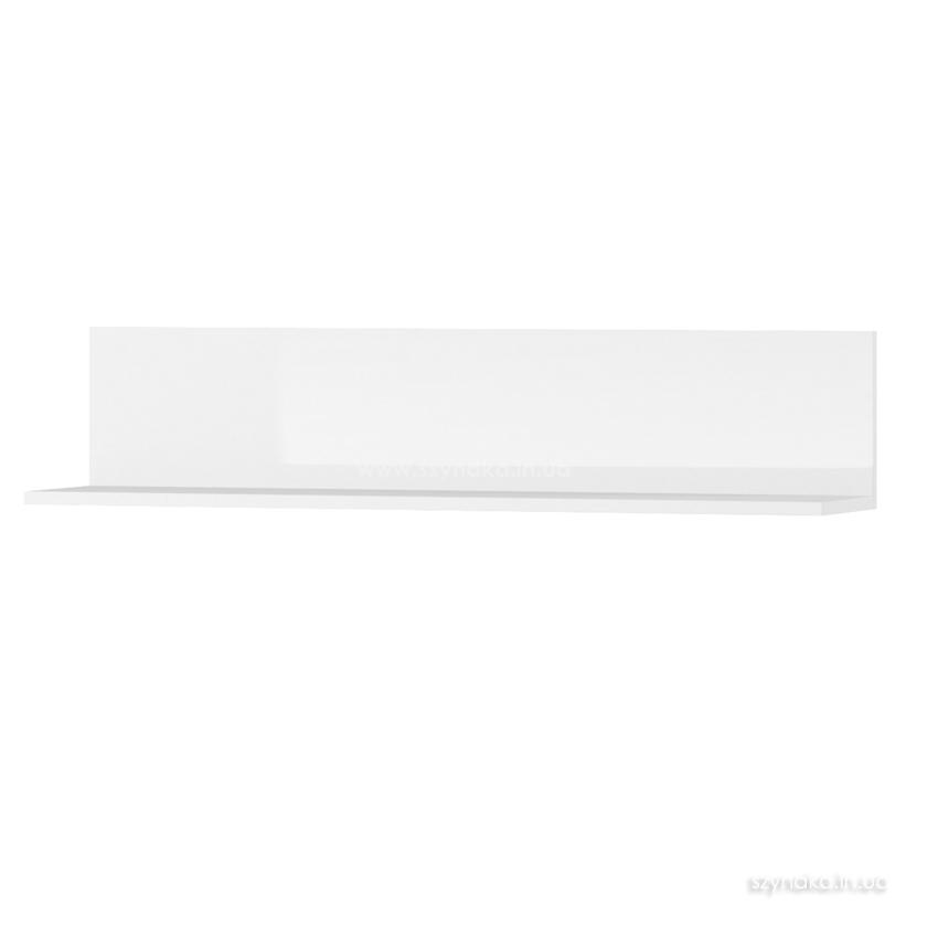 Полка навесная Selene 23 цвет белый