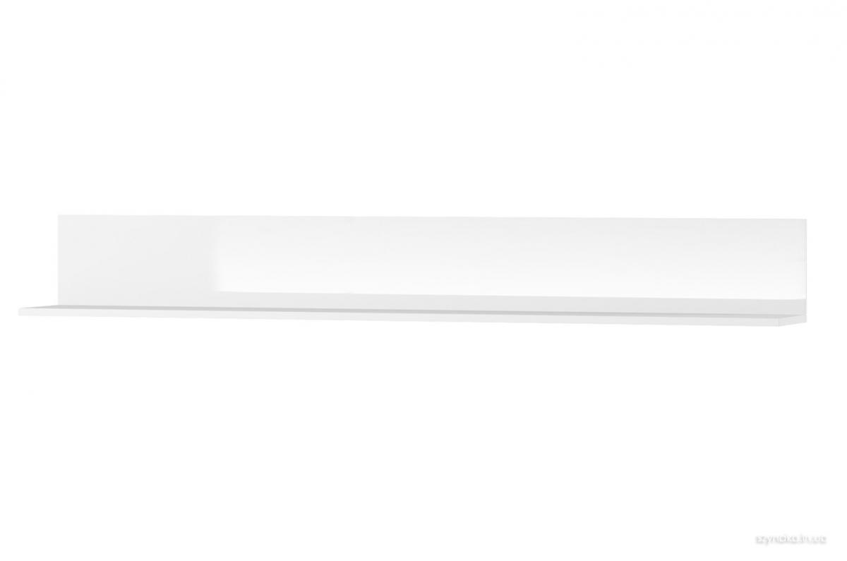 Полка навесная Selene 24 цвет белый