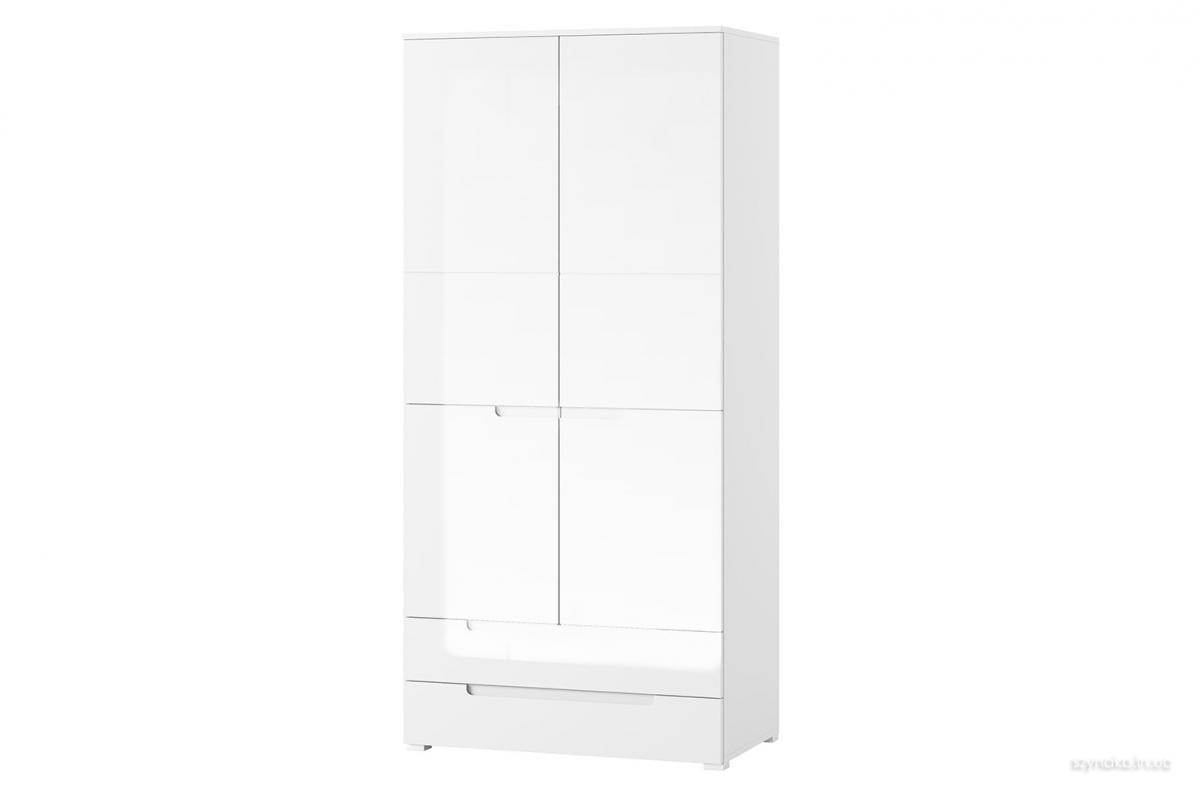 Шкаф 2д 2ш Selene 28 цвет белый