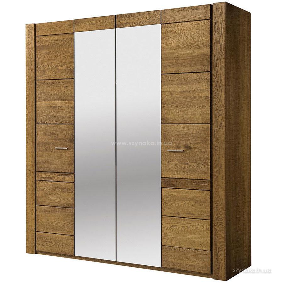 Шкаф 4-дверный Szynaka Velvet 77 с зеркалом