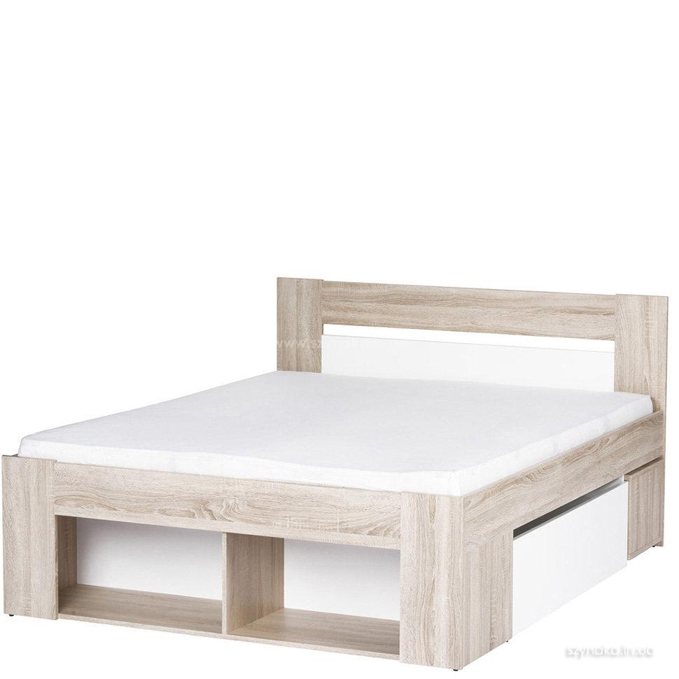 Кровать 140х200 Szynaka Milo 08 с тумбочками