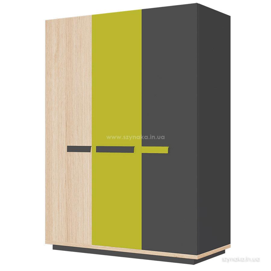 Шкаф 3-дверный Szynaka Wow 05